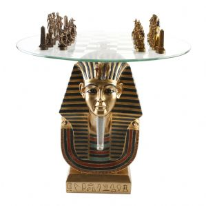 Egyptian Bust Chess Set